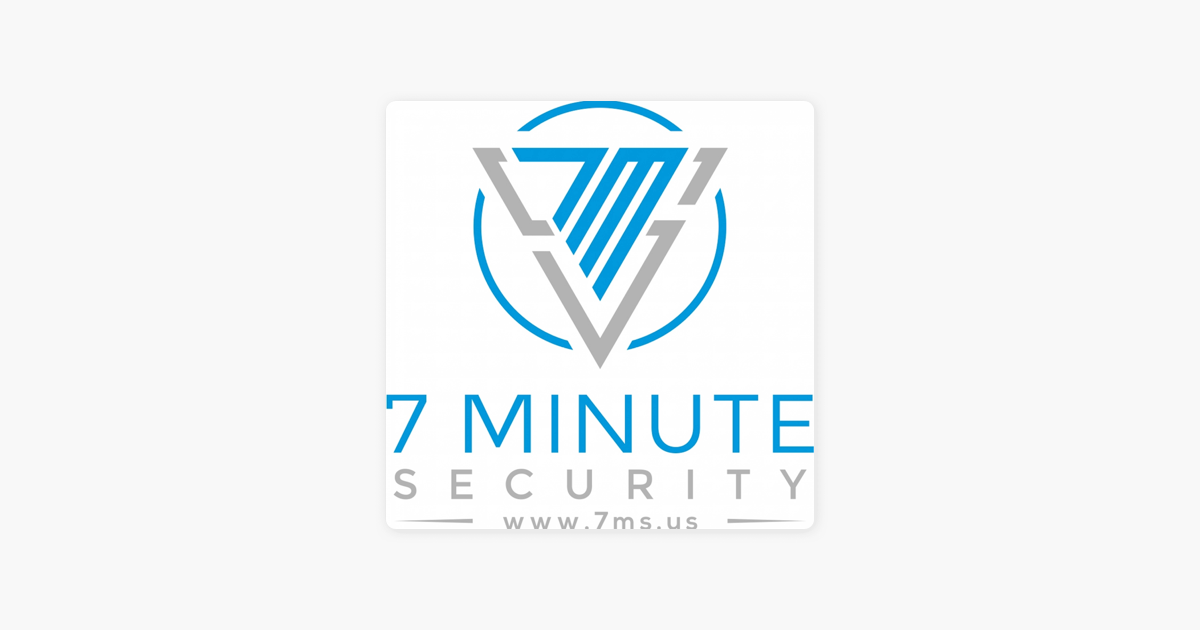 "7 Minute Security"" auf Apple Podcasts"
