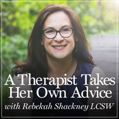 A Therapist Takes Her Own Advice