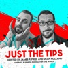 Just The Tips, with James P. Friel and Dean Holland artwork
