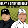 Gary and Gary on Golf artwork