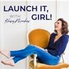 Launch it, Girl artwork