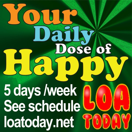 Cover image of Law of Attraction with LOA Today, Your Daily Dose of Happy   Tips & Secrets