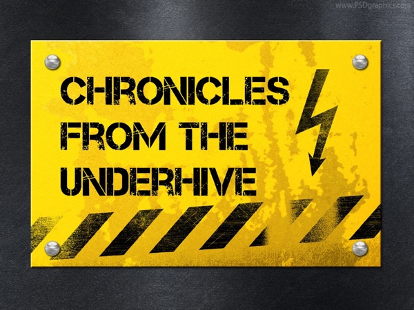 Chronicles from the Underhive's podcast