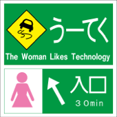 The Woman Likes Technology