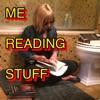 Me Reading Stuff artwork