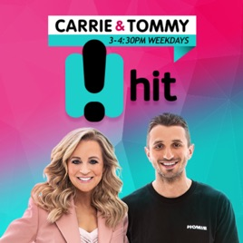 Carrie & Tommy Catchup - Hit Network - Carrie Bickmore and