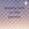Weekly Vort on the parsha  artwork