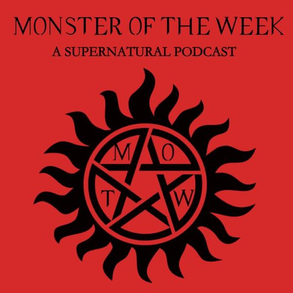 Monster Of The Week: A Supernatural Podcast banner backdrop