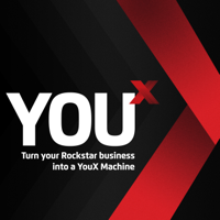 YouX Podcast - Turn Your Rockstar Business into a YouX Machine podcast