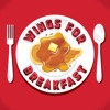 Wings for Breakfast: A show about the Detroit Red Wings artwork
