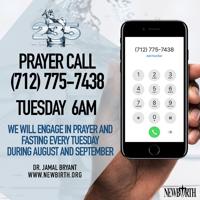 New Birth 235 Prayer Call - Dr. Jamal Bryant podcast