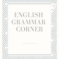 English Grammar Corner podcast
