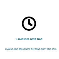 5 Minutes with God podcast