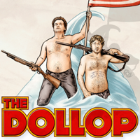 Podcast cover art for The Dollop with Dave Anthony and Gareth Reynolds