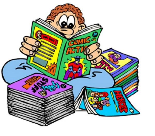 Comics I Read To You