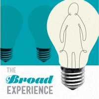 Podcast cover art for The Broad Experience