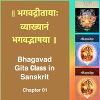 Bhagavad Gita Class (Ch1) in Sanskrit by Dr. K.N. Padmakumar (Samskrita Bharati) podcast