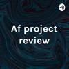 Af project review artwork
