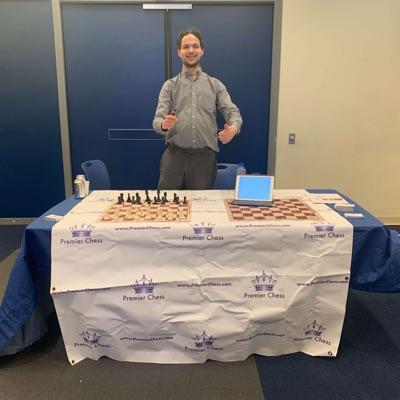 National Master Evan Rabin, CEO of Premier Chess