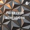 False rape allegations artwork