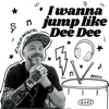 I wanna jump like Dee Dee artwork