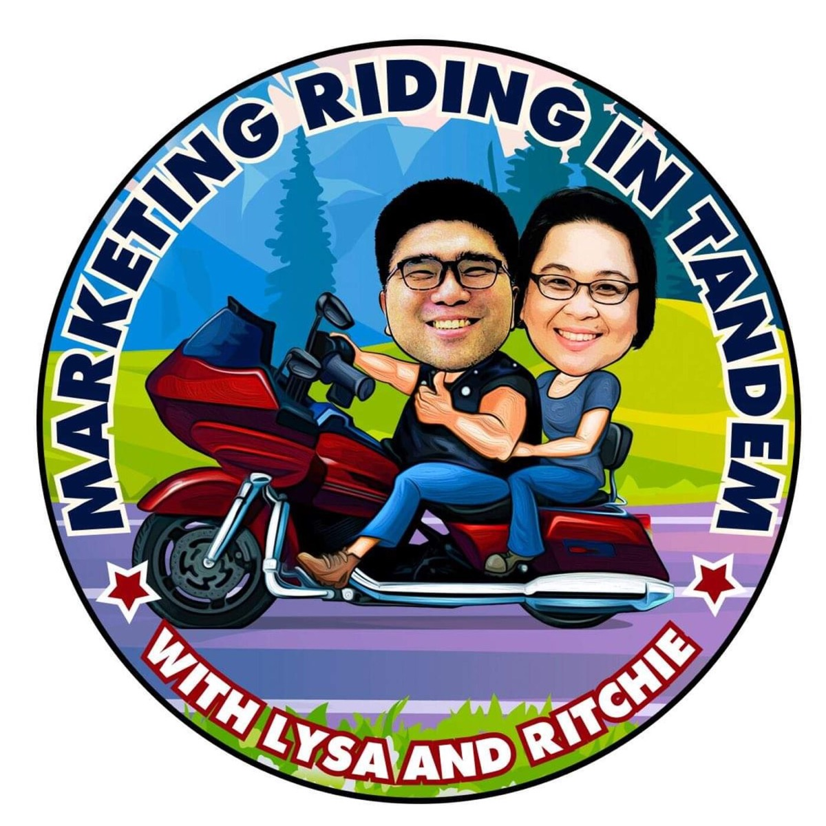 Marketing Riding in Tandem's Podcast