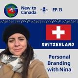 Personal Branding   Nina from Switzerland