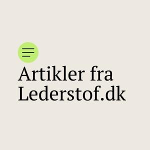 Artikler fra Lederstof.dk