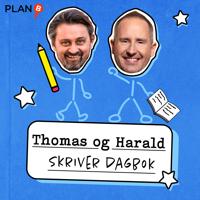 Thomas og Harald skriver dagbok