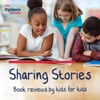 Sharing Stories - Book reviews by kids for kids artwork