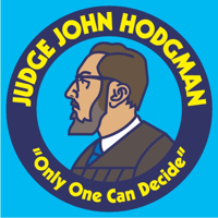 Podcast cover art for Judge John Hodgman