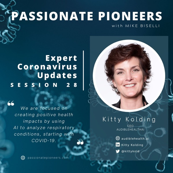 Expert Coronavirus Updates with Kitty Kolding   Session 28 photo