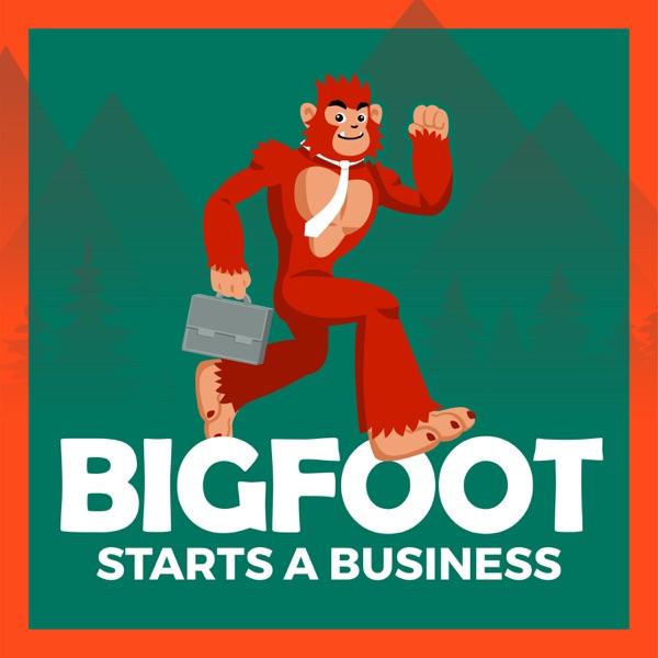 Bigfoot Starts a Business Artwork