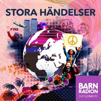 Stora händelser i Barnradion:Sveriges Radio