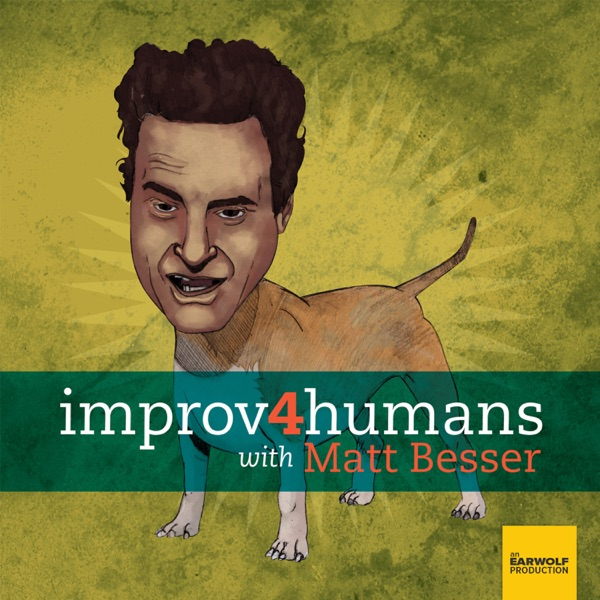 improv4humans with Matt Besser banner backdrop