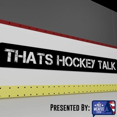 That's Hockey Talk:Pat McAfee Inc