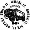 HSV H3 HUMMER artwork