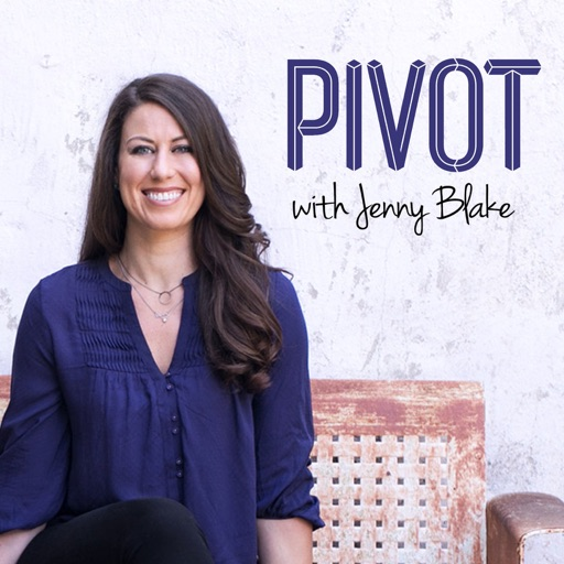 Cover image of Pivot Podcast with Jenny Blake