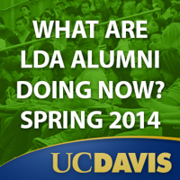 LDA Alumni: what are they doing now?  Spring 2014 podcast