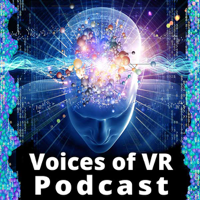 Podcast cover art for Voices of VR Podcast – Designing for Virtual Reality