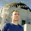 Things That Make You Go Hmnn Book Review Podcast