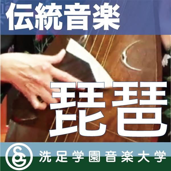 伝統音楽デジタルライブラリー:「琵琶」