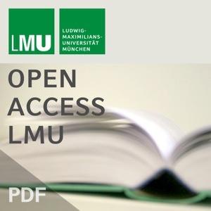 Vorlesungsverzeichnisse - Open Access LMU - Teil 02/02