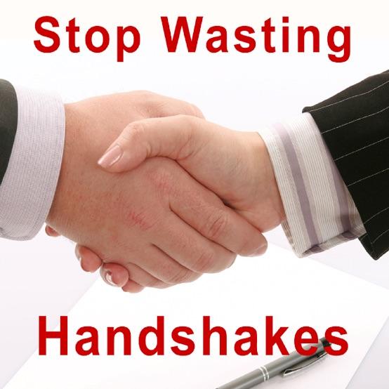Stop Wasting Handshakes