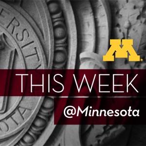 This Week @Minnesota