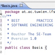 Best-Practice-Software-Engineering