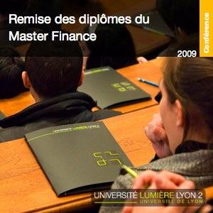 Cérémonie de remise de diplômes du Master Finance