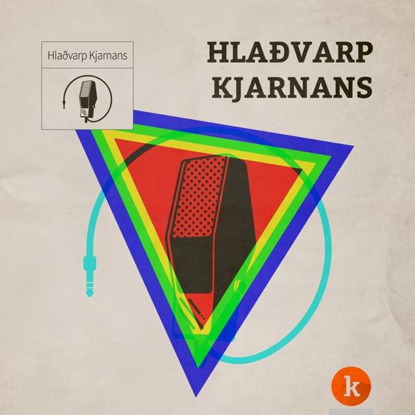 Hlaðvarp Kjarnans banner backdrop