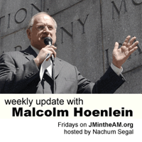 Weekly Update with Nachum Segal and Malcolm Hoenlein   WFMU podcast