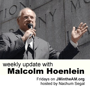 Weekly Update with Nachum Segal and Malcolm Hoenlein | WFMU